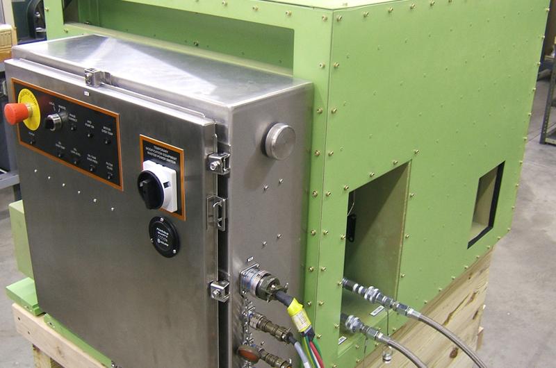 Airborne Flutter Hydraulic Power Supply